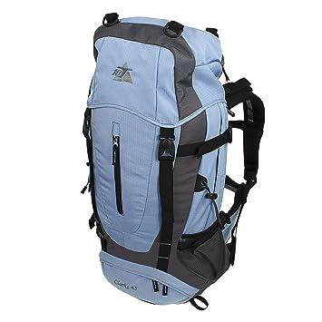 erstaunliche Qualität billig zu verkaufen heiße Produkte 10T Clarke 45L Rucksack XL Tourenrucksack mit Regenschutz Wanderrucksack  mit Trinksystem, Hüft- & Schultergurte einstellbar Daypack mit Fächern ...