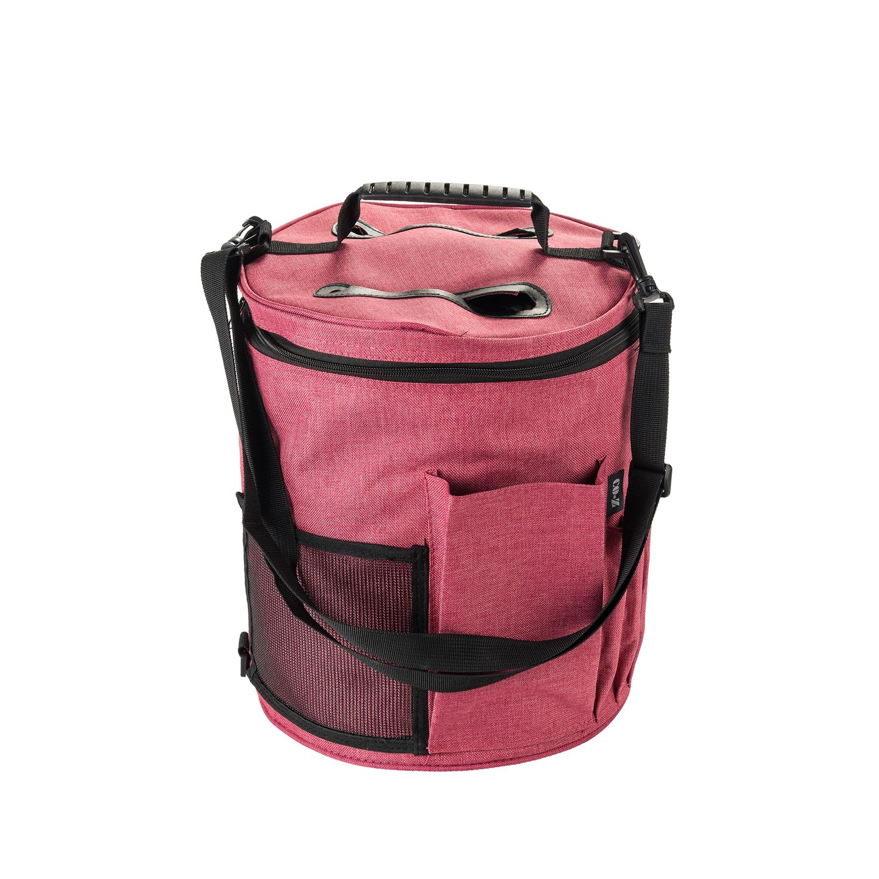 CO-Z Organizer Bag for Knitting Projects, Large Tote Bag for Storage Yarn Supplies, Organizer Tote for Weave Tools Crochet Accessories Needles/Hooks, Lightweight Holder with Adjustable Strap