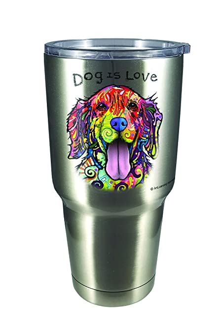 buy spoontiques 18453 dean russo dog large stainless steel mug silver online at low prices in india amazon in amazon in
