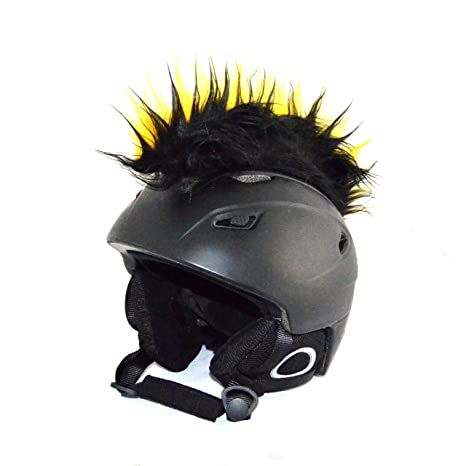 cresta per casco  Cresta all'irochese per casco da sci, snowboard, moto o bicicletta ...