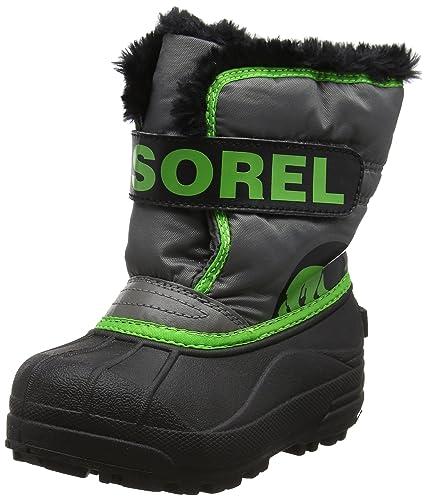 0c94e078d27 Sorel Boys  Childrens Snow Commander Boots  Amazon.co.uk  Shoes   Bags
