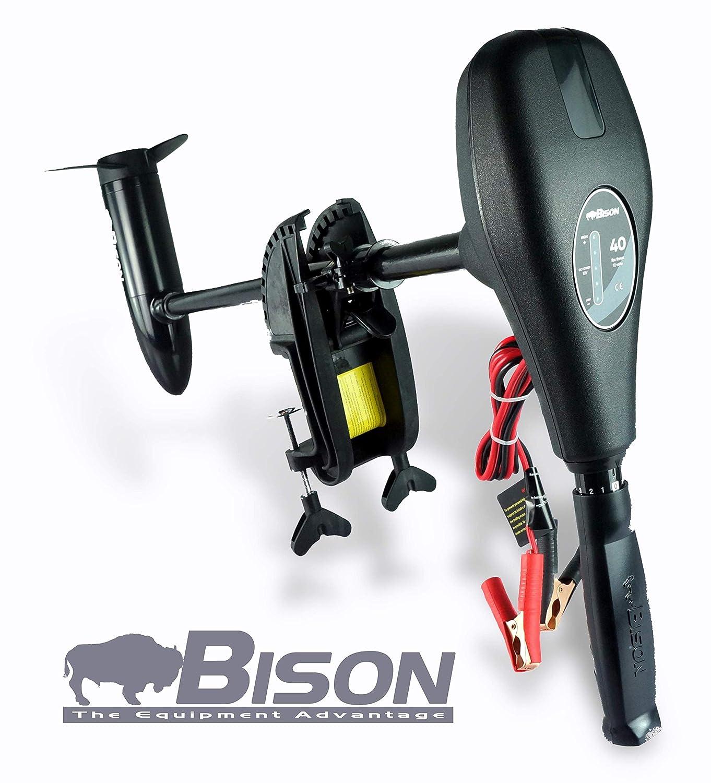 Bison 68 - Outboard elettrica con elica aggiuntiva, per pesca alla traina 62beom