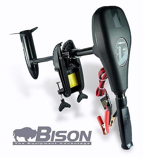 Bison - Motor eléctrico fuera de borda con hélice de repuesto de 3 ...