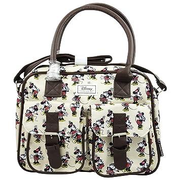 DISNEY Minnie Maus Ivory - Horizontale Tasche mit Schulterriemen und ...