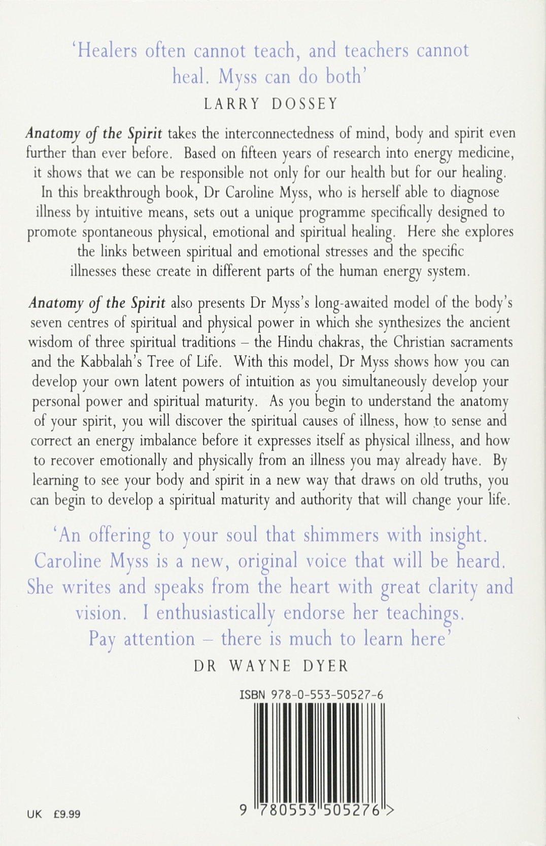 Anatomy Of The Spirit: Amazon.in: CAROLINE MYSS: Books
