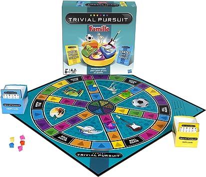 Hasbro - Juego de Preguntas, 6 Jugadores (730134470) (versión en francés): Amazon.es: Juguetes y juegos