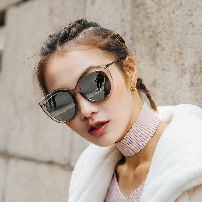 VVIIYJ Big Box Gafas de Sol Mujer Cara Larga Gafas de Sol ...