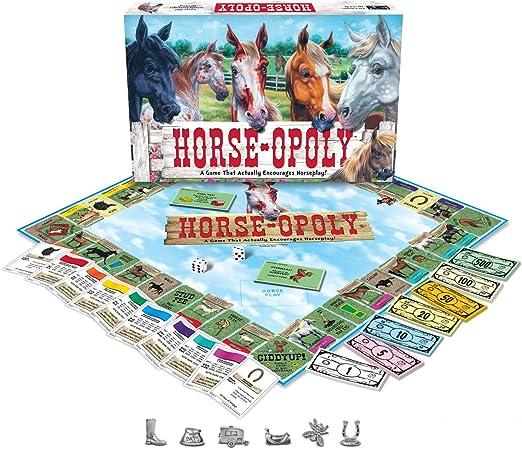 Hobby Games - Jorse-Opoly (versión en inglés): LatefortheSky: Amazon.es: Juguetes y juegos