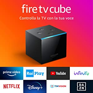 Presentiamo Fire TV Cube | Lettore multimediale per lo streaming con controllo vocale tramite Alexa e 4K Ultra HD