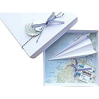 Geldgeschenk-Verpackung Reise Gutschein Flugzeug für Geburtstag Hochzeit, Geld schenken