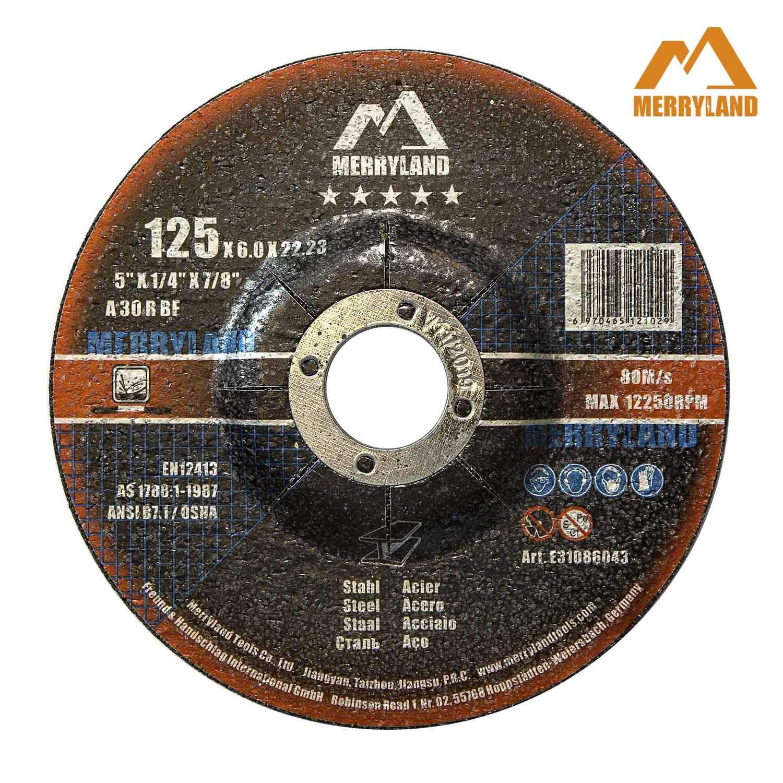 Merryland 125 X 1,0 Experten-line Trennscheibe f/ür Edelstahl Metall 25 St/ück