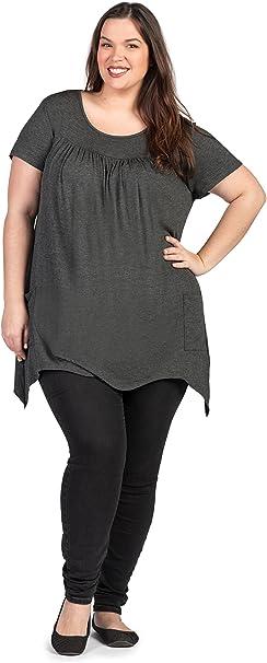 Savi Mom Plus Size Maternity Nursing Breastfeeding Pumping T Shirt Top Discreet Opening Super Soft At Amazon Women S Clothing Store