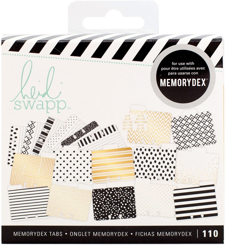 110 Pieces Heidi Swapp 313035 Kit Memory Decks-Recipe