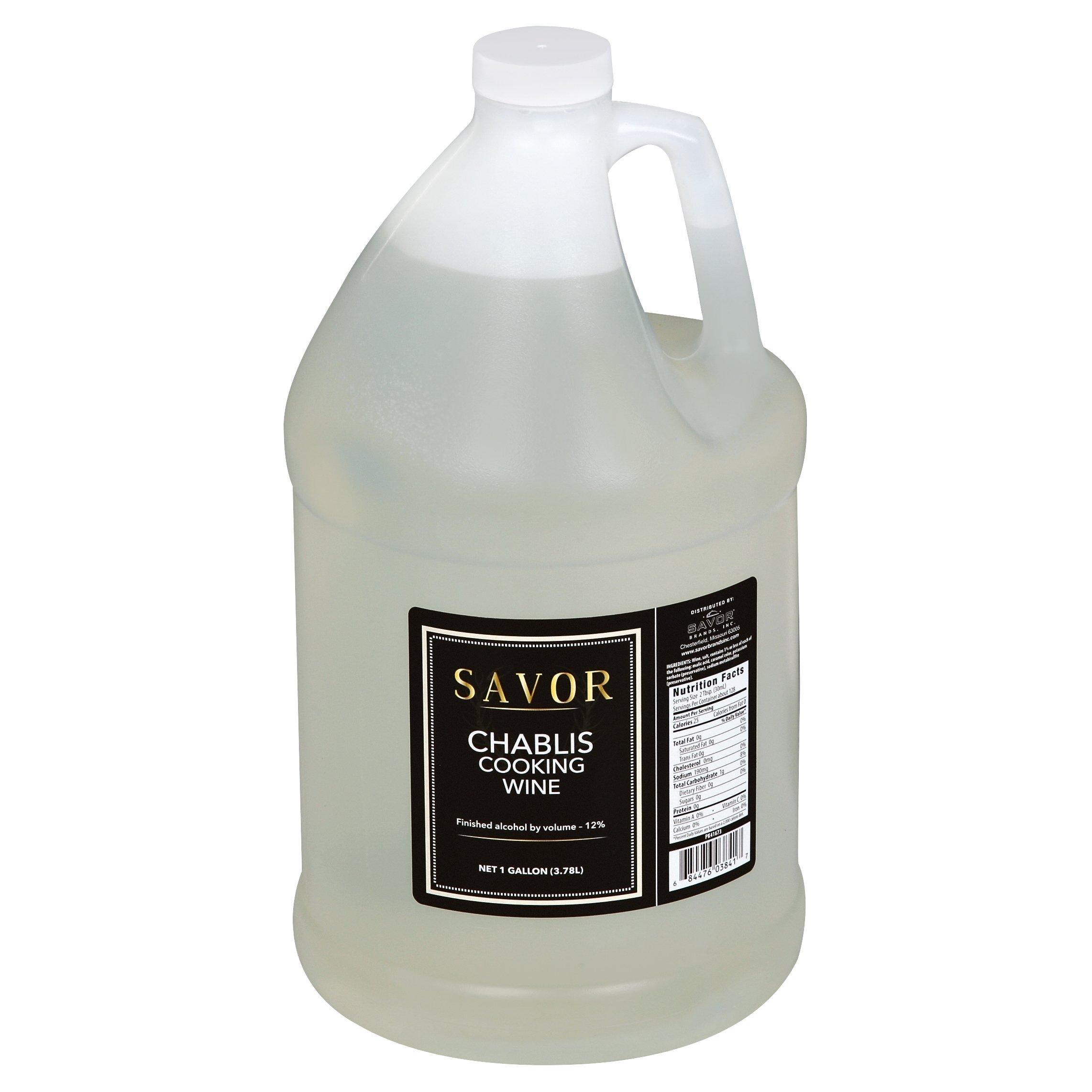 Savor, Chablis Cooking Wine 1 Gallon (4 count)