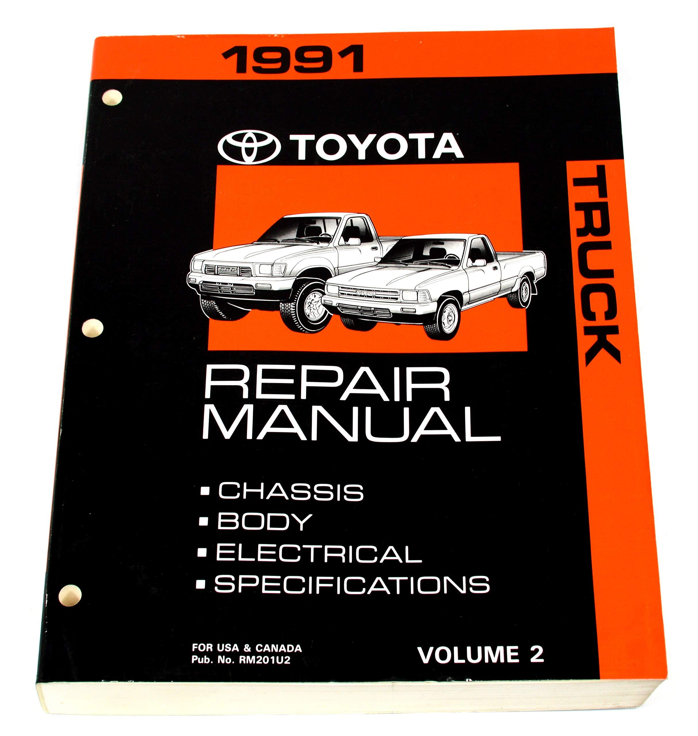 1991 toyota truck repair manual