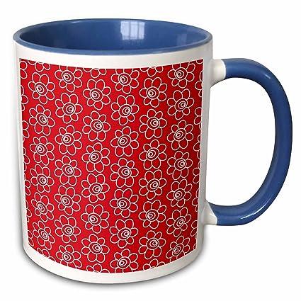 99a6e1d641af Amazon.com: 3dRose Anne Marie Baugh - Patterns - Cute Hand Drawn Red ...