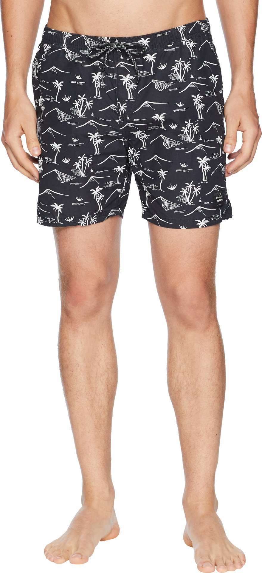 Scotch & Soda Men's Elasticated Swimshort with Colourful All-Over Print, Combo Dye, M