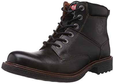 Stylish Lee Cooper Boots for Men Black Boots Outlet