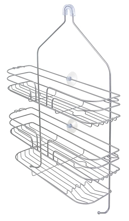 Amazon.com: Extra Wide Jumbo Shower Caddy by LDR, Over The ...