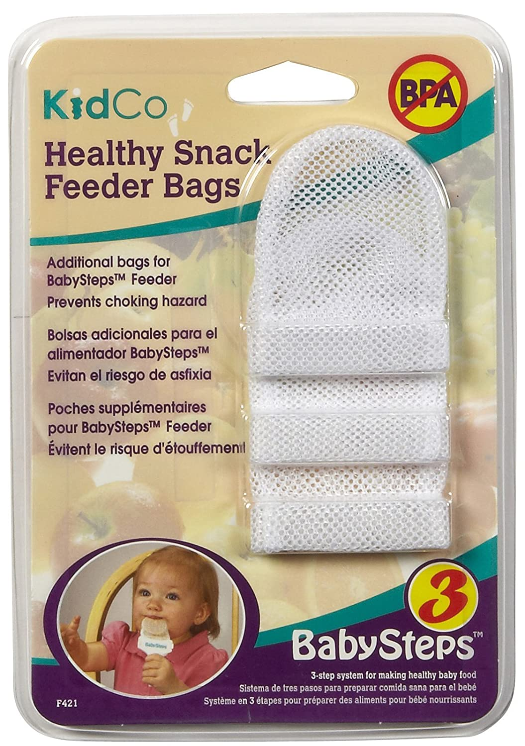 Amazon.com: Kidco Healthy Snack Feeder Bag(3): Baby