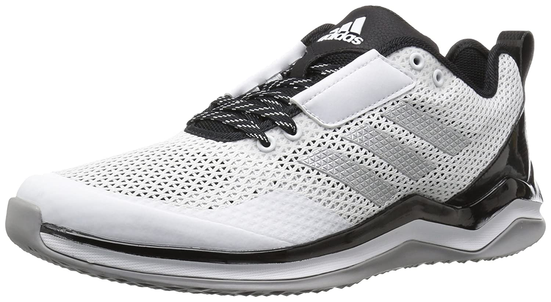 adidas メンズ Speed Trainer 3.0 B01LYLB4LB 8.5 D(M) US|White/Metallic Silver/Black White/Metallic Silver/Black 8.5 D(M) US