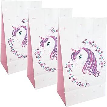 Amazon.com: Bolsas de unicornio para fiesta, bolsas de ...