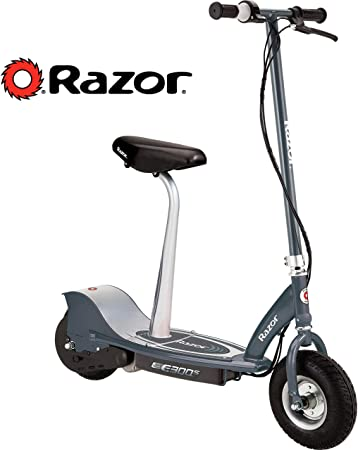 Electric Scooter With Seat >> Razor E300s Seated Electric Scooter