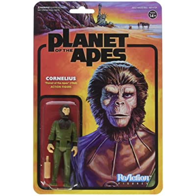 Super 7 Planet of The Apes: Cornelius Reaction Figure: Super7: Toys & Games