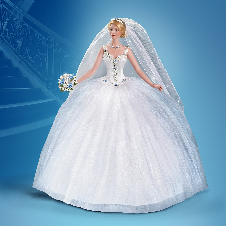 Cindy McClure Ashton Drake 30th Anniversary Bisque Porcelain Bride Doll by The Ashton-Drake Galleries