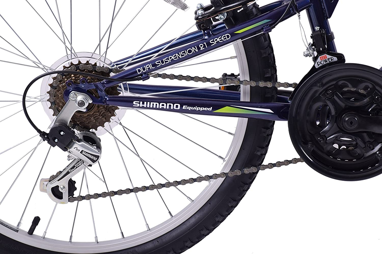 "Arden Peak 26/"" Wheel Full Dual Suspension Mountain Bike 19/"" Frame 21 Speed"