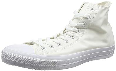 CTAS Seasonal-Hi-White Monochrome-Unisex, Baskets Hautes Mixte Adulte, Blanc (White Monochrome 137), 53 EUConverse