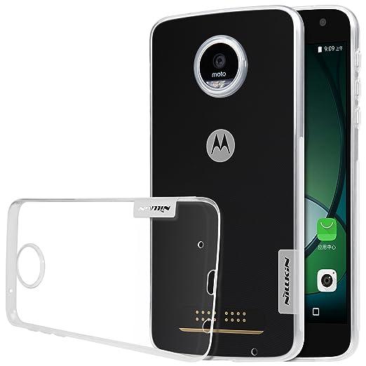 4 opinioni per Nillkin Nature- Custodia TPU posteriore di protezione e antiscivolo per Motorola