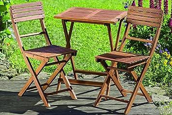 Gartenmöbel Set Holz Lounge ~ Amazon dapo lounge set remo tischset aus holz ein tisch