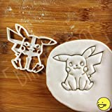 Pokemon Pikachu Inspired Cookie cutter: Beautifully detailed classic anime character biscuit cutter!