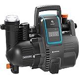 GARDENA smart Pressure Pump: Hauswasserautomat via App / Tablet steuerbar, Fördermenge 5000 l/h, wartungsfrei, integrierter Vorfilter, 8 m max. Ansaughöhe, Trockenlaufsicherung (19080-20)