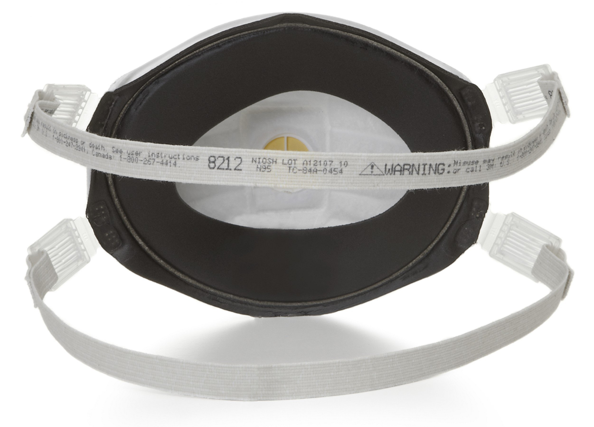 3M 54141 Particulate Welding Respirator 8212, N95, with Faceseal (Pack of 10) by 3M Personal Protective Equipment (Image #2)