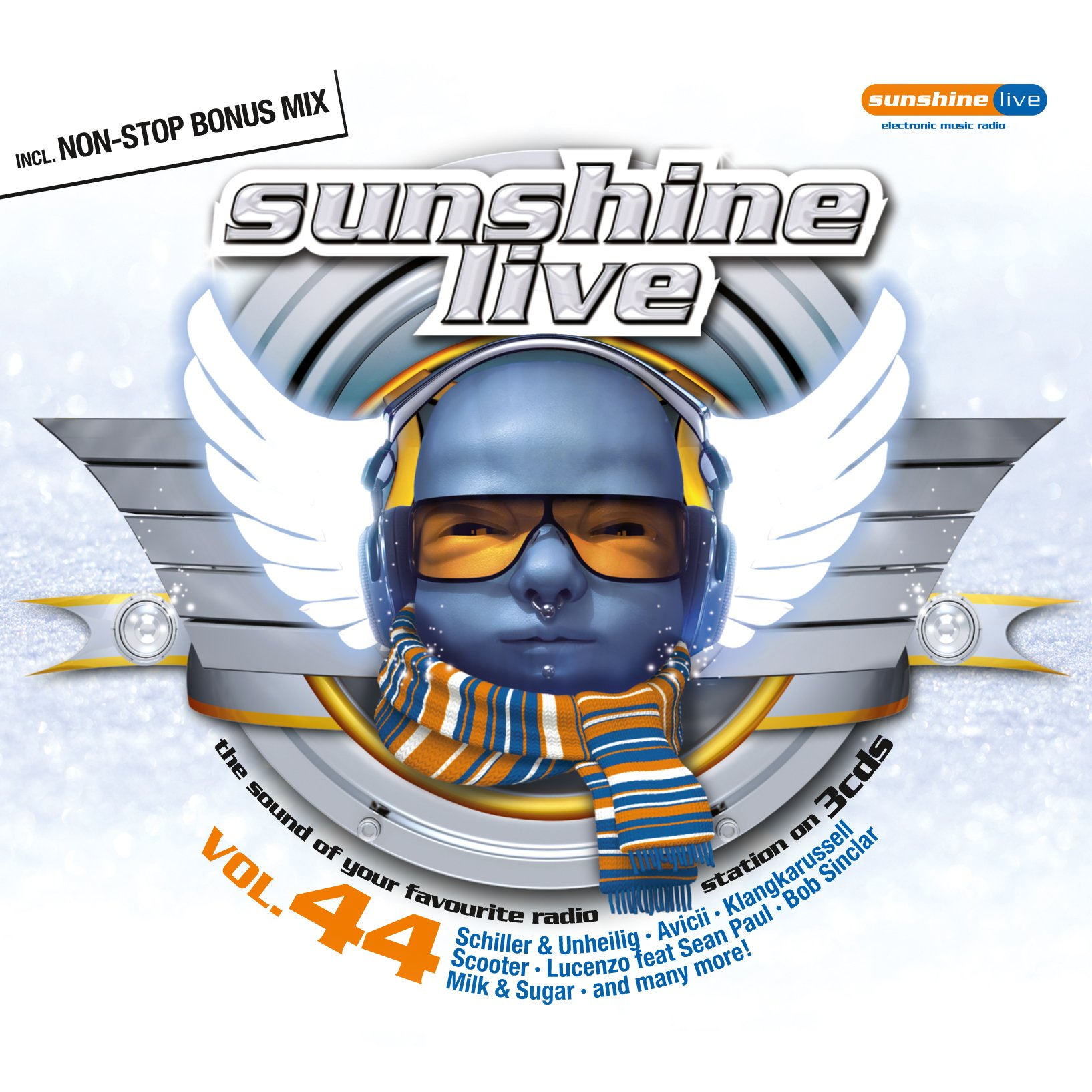 Sunshine Live Vol. 44 by Zyx/Toptra (Zyx Music)