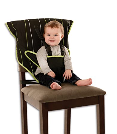 Cozy Cover Easy Seat Portable High Chair (Black)   Quick, Easy, Convenient