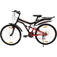 Hercules Frozo ZX 26T 18 Speed Mass Geared Cycle(Black/Smart Red)