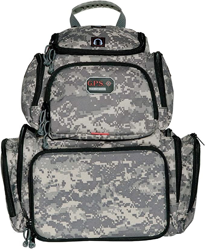 best range bags: G.P.S Handgunner Backpack