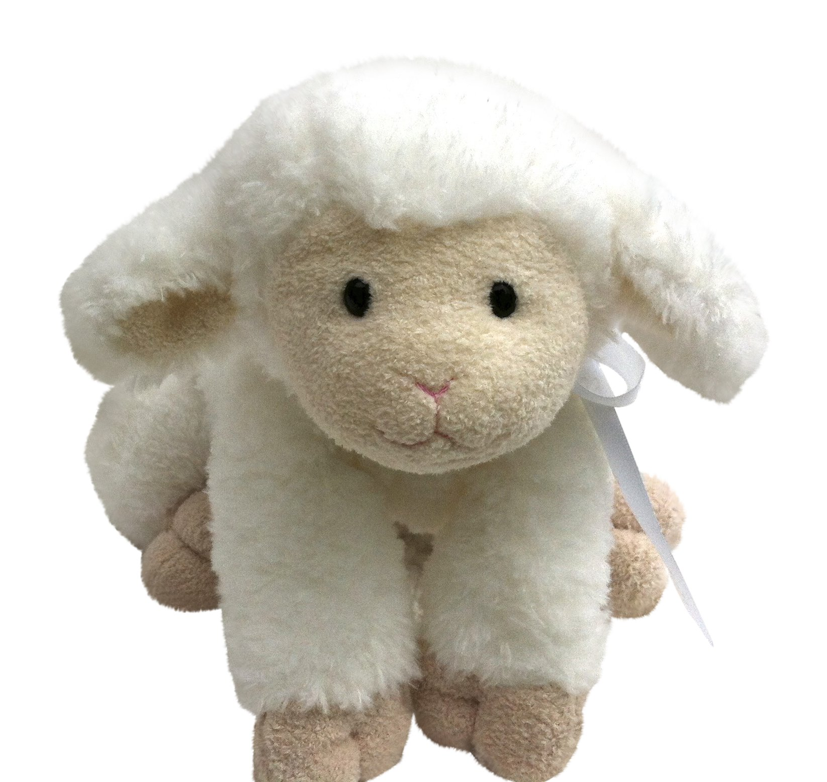 ''Jesus Loves Me'' Musical Baby Plush Lamb Toy