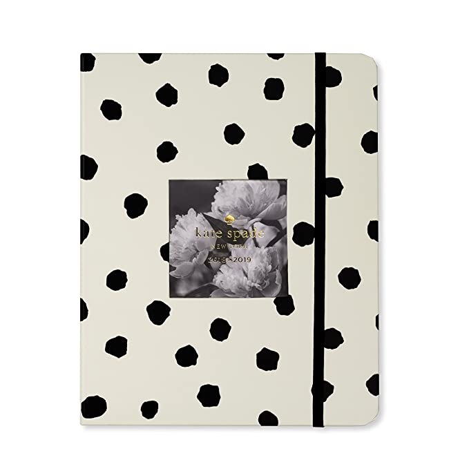 Kate Spade New York Womens Spotty Large August to August Agenda Planner