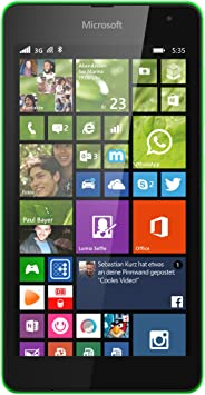 Microsoft Lumia 535 8GB Verde - Smartphone (SIM única, Windows ...
