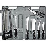 Sportsman Series Stainless Steel Meat Butcheris Knife Set Grey Black