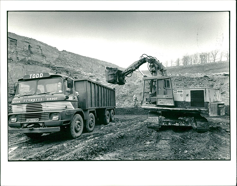 Amazoncom Vintage Photo Of Open Pit Mining The Alexander