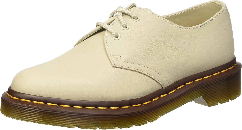 Womens Black Dr Martens 1461 Flat Shoes