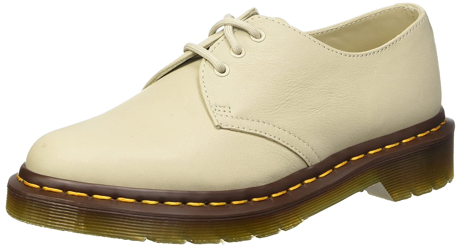 Counter Genuine Dr. Martens Virginia 1461 Shoes Ivory