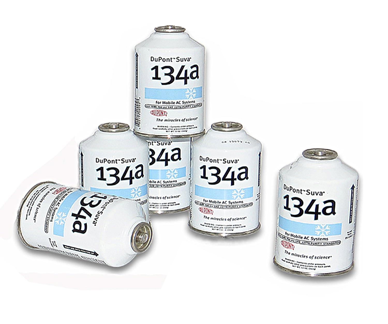 Six (6) 12oz Cans of DuPont Suva R134a Automobile Refrigerant/Freon (6 Cans) DU PONT