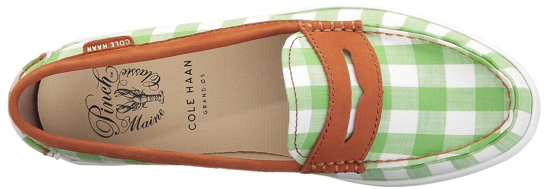 Cole Prints Haan Women's Pinch Weeknder-Prep Prints Cole B01MU00VG2 6 M US Green Gingham/Acorn Nubuck c86cd5