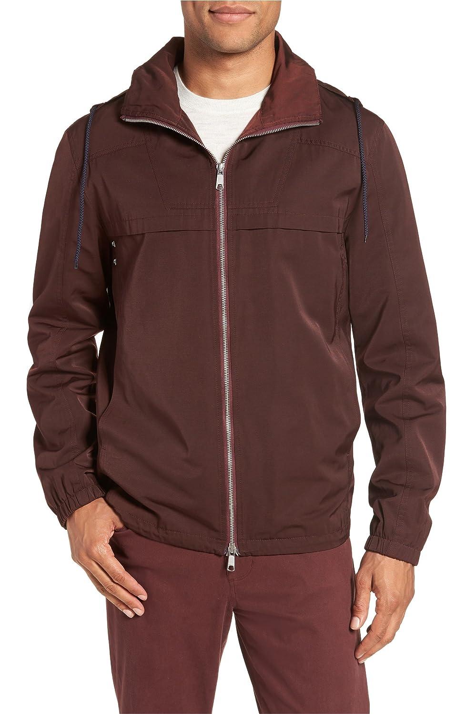 [ヴィンス] メンズ ジャケットブルゾン Vince Zip Front Regular Fit Jacket [並行輸入品] B07DR6GYS7
